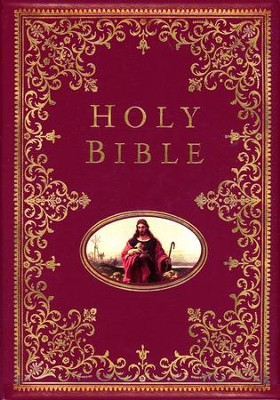 The NKJV Providence Collection Family Bible, Hardcover   -