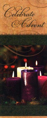 Celebrate Advent Traditional Pamphlets, Pack of 12   -