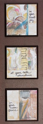 In Your Heart Joy Plaque  -