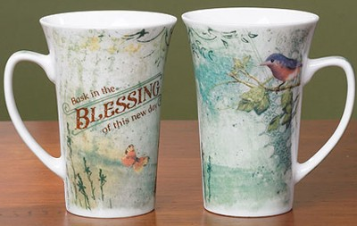 Blessings--Ceramic Java Mug   -