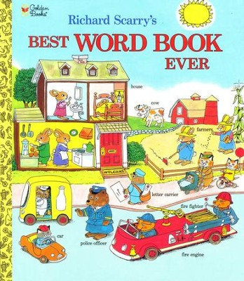 Best Word Book Ever  -     By: Richard Scarry