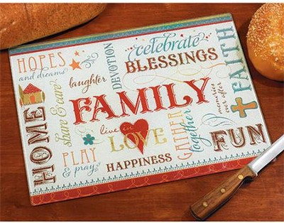 Family Cutting Board  -