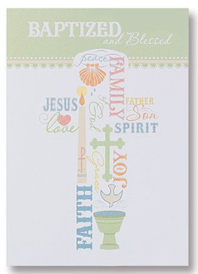 Baptized and Blessed Cards, Pack of 6  -