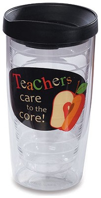 Teachers Care to the Core, Tumbler   -