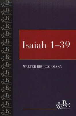 Westminster Bible Companion: Isaiah, Volume 1   -     By: Walter Brueggemann