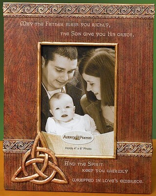 May the Father Bless You, Trinity Photo Frame  -