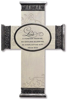 Love, Everlasting Promise Wall Cross  -