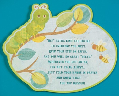 Bee Extra Kind, Bug Plaque  -