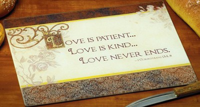 Love Is Patient, Cutting Board   -