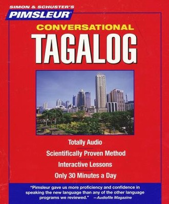 Conversational Tagalog 16 Lessons, 8 CDS  -