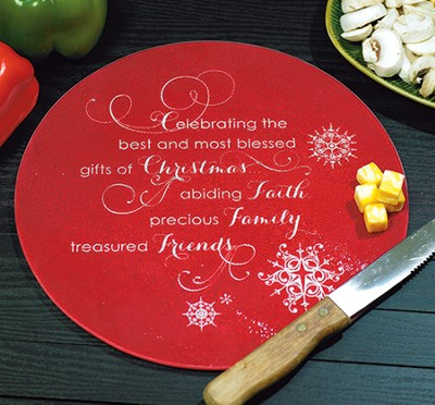 Gifts Of Christmas Cutting Board  -