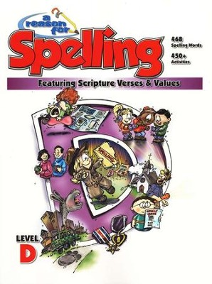 A Reason For Spelling, Level D: Student Worktext   -