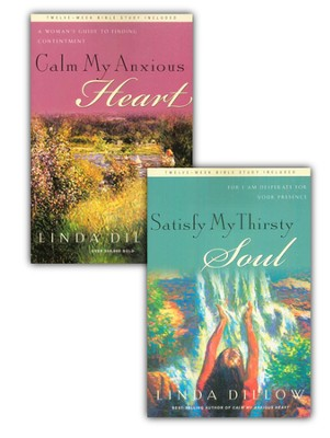 Calm My Anxious Heart with  Satisfy My Thirsty Soul-eBook Bundle     -     By: Linda Dillow