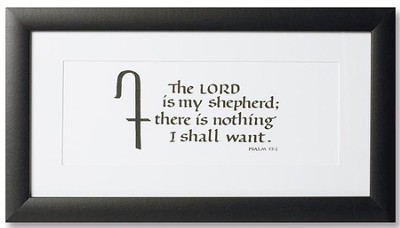 Lord is My Shepherd Framed Art  -