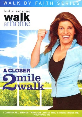 A Closer 2-Mile Walk--DVD   -     By: Leslie Sansone