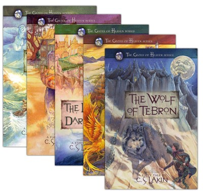 The Gates of Heaven Series, Volumes 1-5  -     By: C.S. Lakin