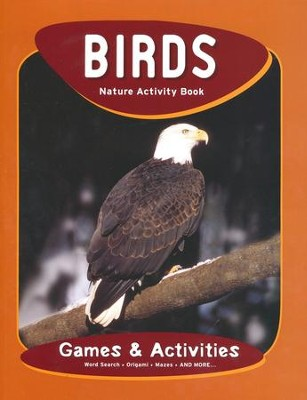 Birds Nature Activity Book: Games & Activities, Second Edition  -     By: James Kavanagh     Illustrated By: Raymond Leung