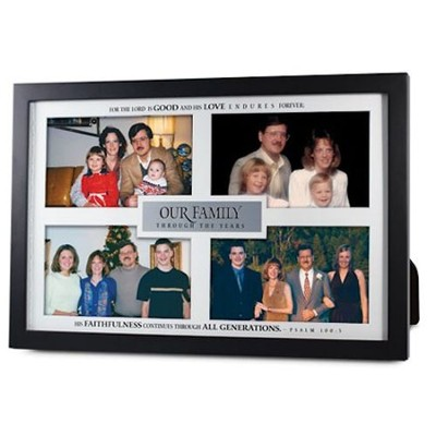 Our Family Through the Years Multi Photo Frame  -