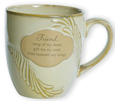 Friend, Song of My Heart--Stoneware Mug   -