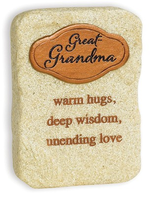 Great Grandma, Warm Hugs Tabletop Plaque  -