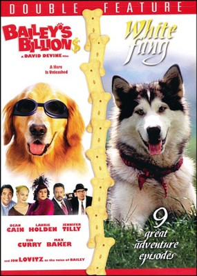 Bailey's Billions/White Fang, Double Feature DVD   -