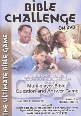 Bible Challenge on DVD   -