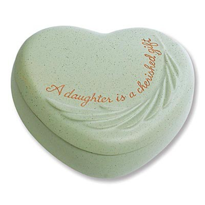 Daughter Is A Cherished Gift Trinket Box  -