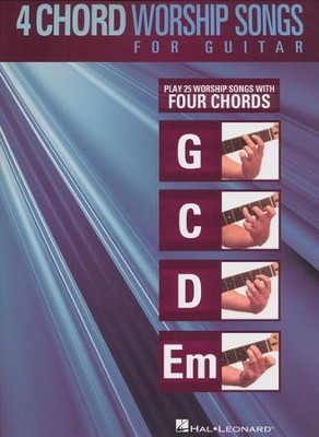 4-Chord Worship Songs for Guitar   -