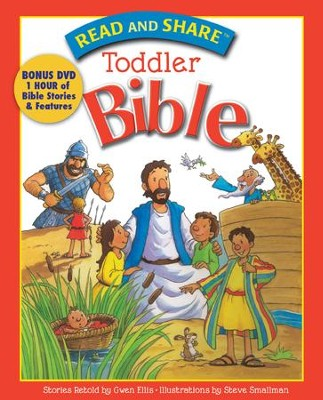 Read and Share Toddler Bible - eBook  -     By: Gwen Ellis