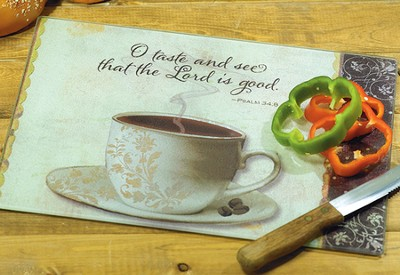 Lord is Good Cutting Board  -