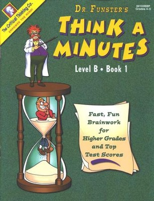 Think A Minutes, Level B Book 1   -     By: Homeschool