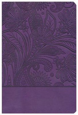 Biblia RVR 1960 Mujeres de Proposito, Piel Elaborada, Purpura  (RVR 1960 Women of Destiny, Leathersoft, Purple)  -
