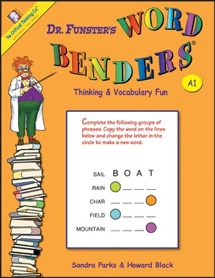 Dr. Funster's Word Benders A1, Grades 3-4   -     By: Sandra Parks, Howard Black