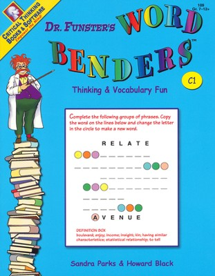 Dr. Funster's Word Benders C1, Grades 7-12+   -     By: Sandra Parks, Howard Black