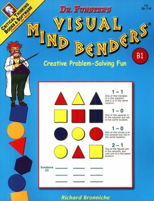 Dr. Funster's Visual Mind Benders B1, Grades 7-9  -     By: Richard Bronniche