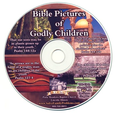 Bible Pictures of Godly Children Audio CD  -     By: Dr. S.M. Davis