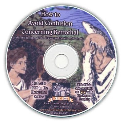 How to Avoid Confusion Concerning Betrothal Audio CD  -     By: Dr. S.M. Davis