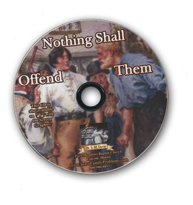 Nothing Shall Offend Them Audio CD  -     By: Dr. S.M. Davis