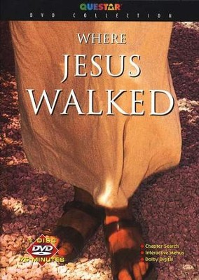 Where Jesus Walked, DVD   -
