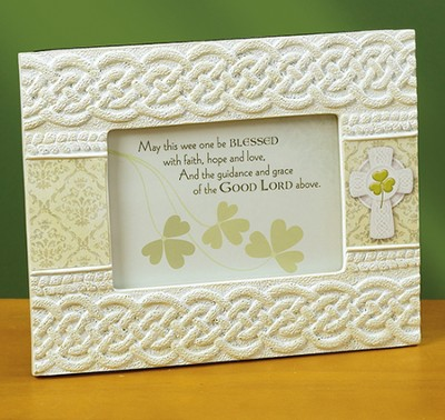 Irish Baptism Frame  -