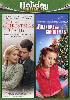 The Christmas Card/A Grandpa For Christmas, Double Feature DVD   -