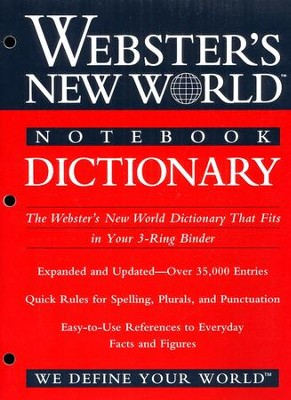 Webster's New World Notebook Dictionary   -