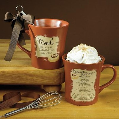 Friends Are the Spice God Adds Mug with Whisk  -