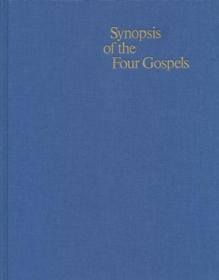 Synopsis of the Four Gospels, Greek-English Edition   -     Edited By: Kurt Aland