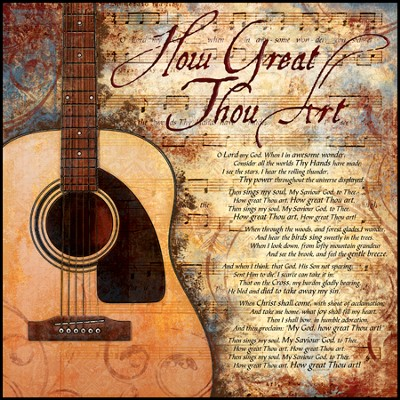 How Great Thou Art Mounted Print  -