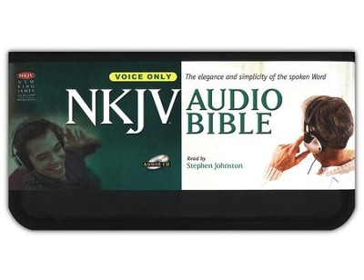 NKJV Complete Bible on CD-voice only   -     Narrated By: Stephen Johnston