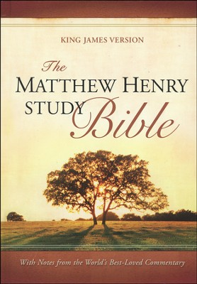 The Matthew Henry Bible, hardcover  - Slightly Imperfect  -