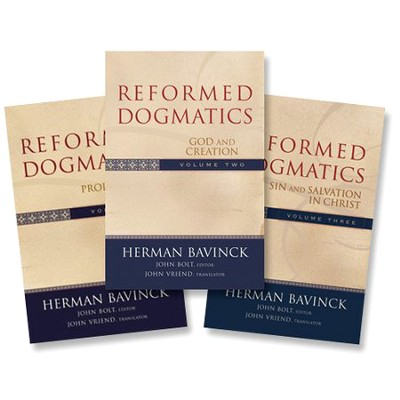 Reformed Dogmatics, Volumes 1-3   -     By: Herman Bavinck