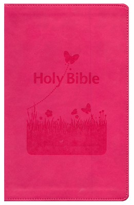 KJV Kids Bible, Flexisoft Pink  - Slightly Imperfect  -