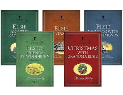 The Original Elsie Dinsmore Collection, Volumes 13-18  -     By: Martha Finley